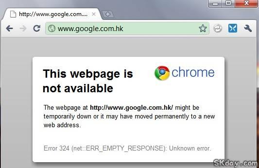 Google被屏蔽